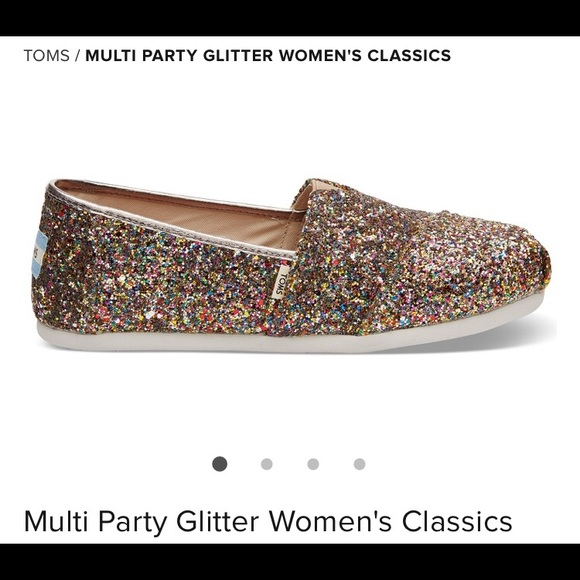 90a15530f7a1 TOMS multi party glitter shoes. M_5bbbcc8cc9bf50cf39342b8d
